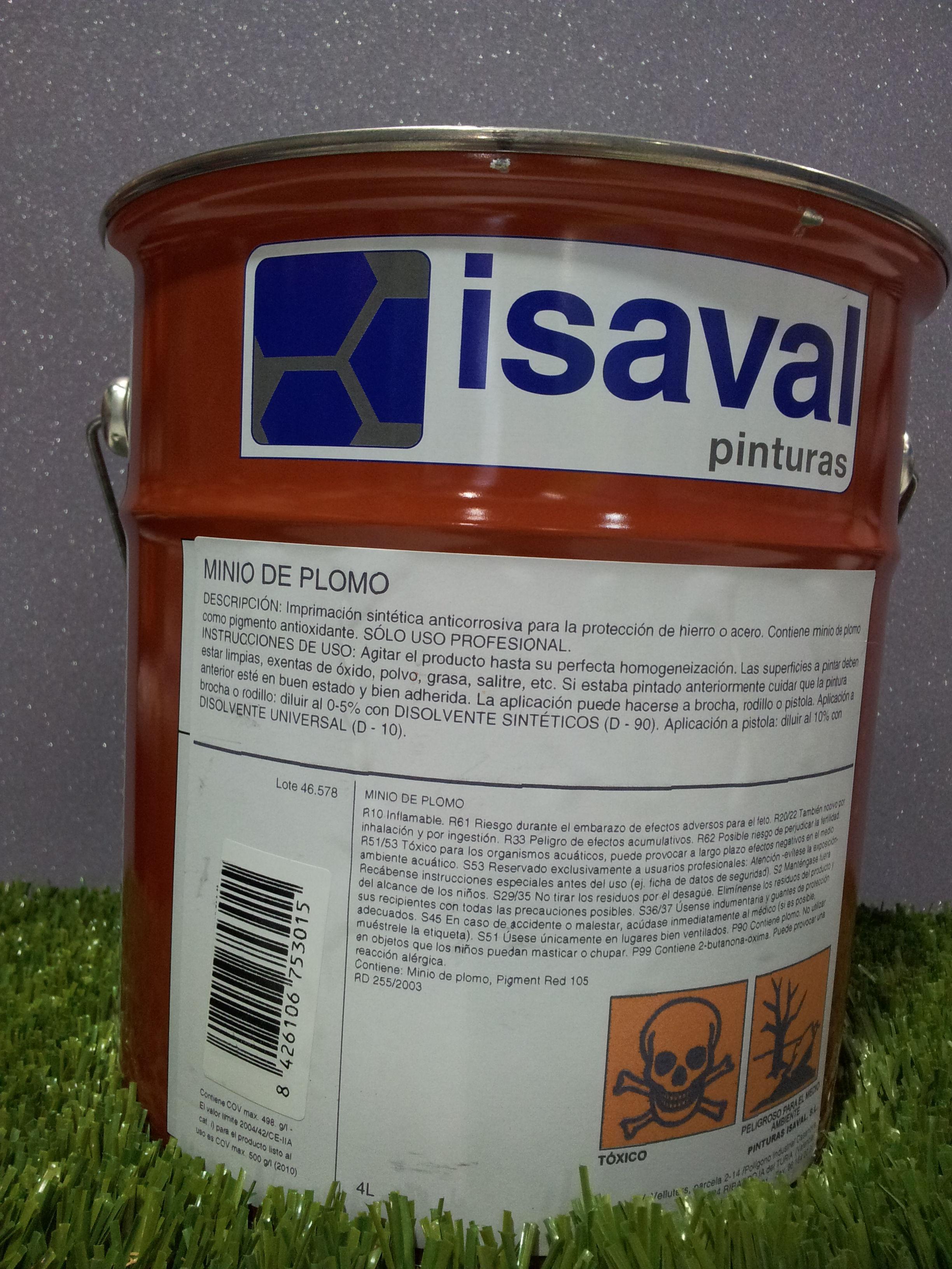 Minio de Plomo Electrolitico ISAVAL