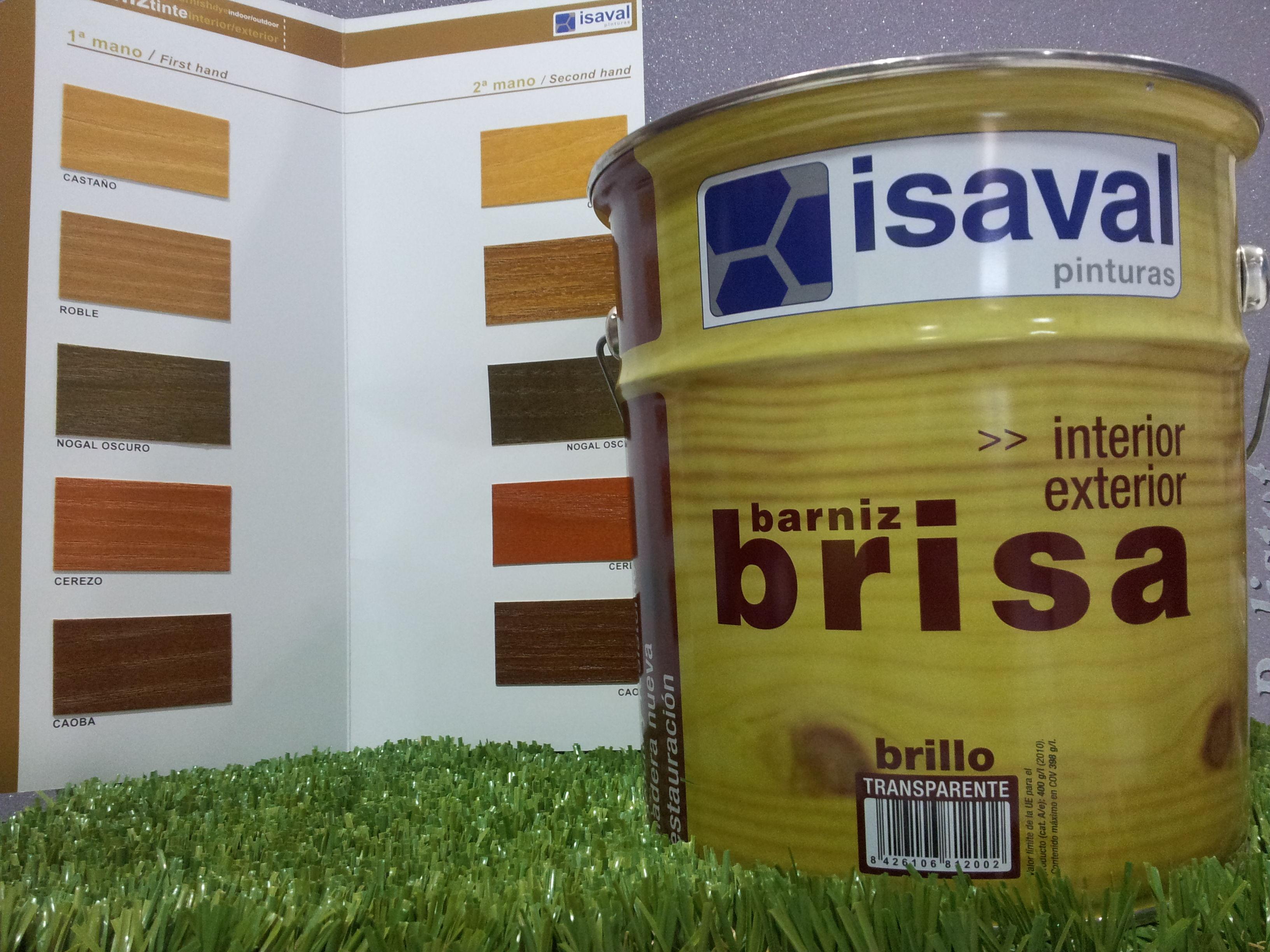Barniz ISAVAL Interior-Exterior
