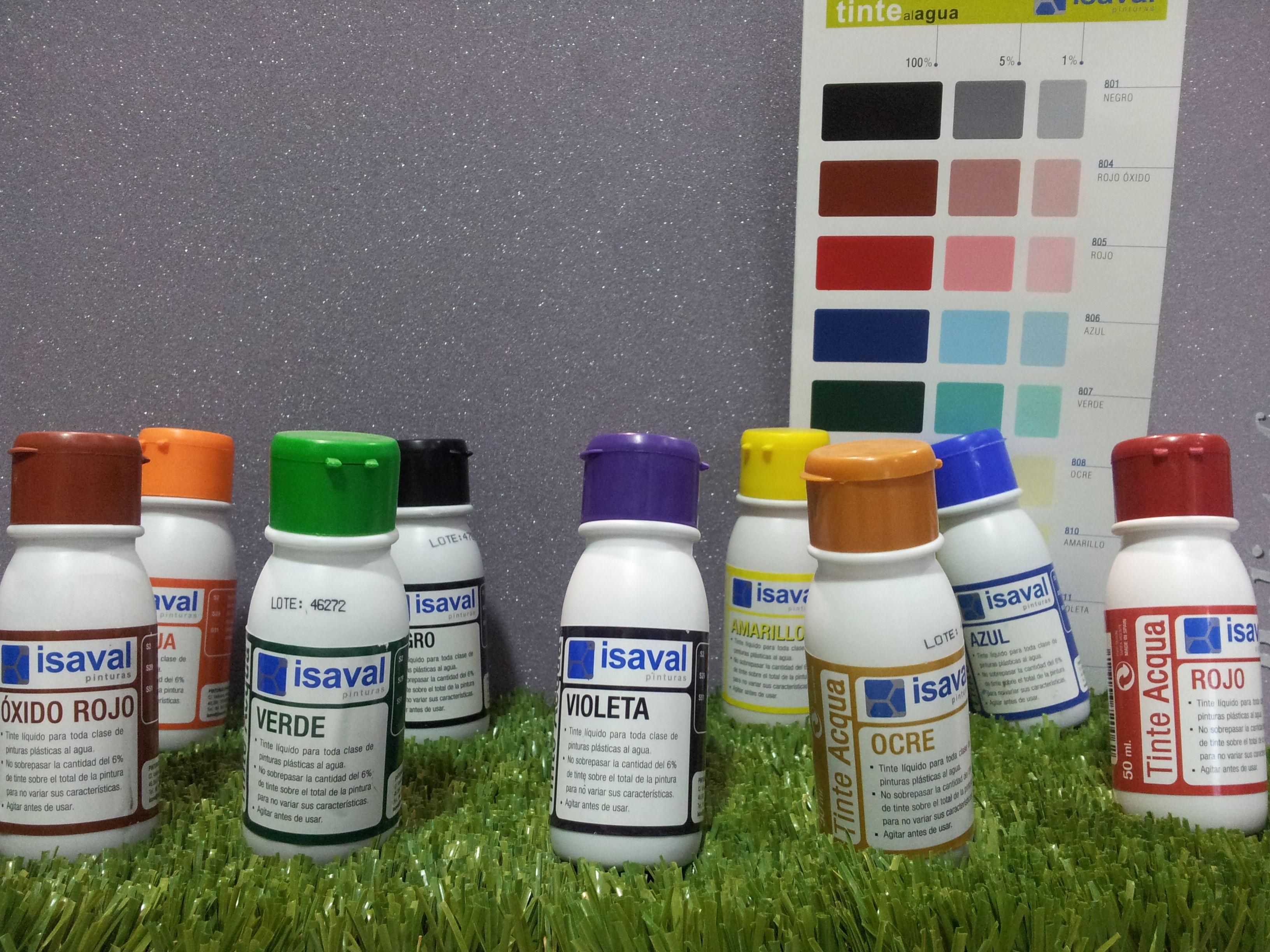 Tintes Acqua ISAVAL