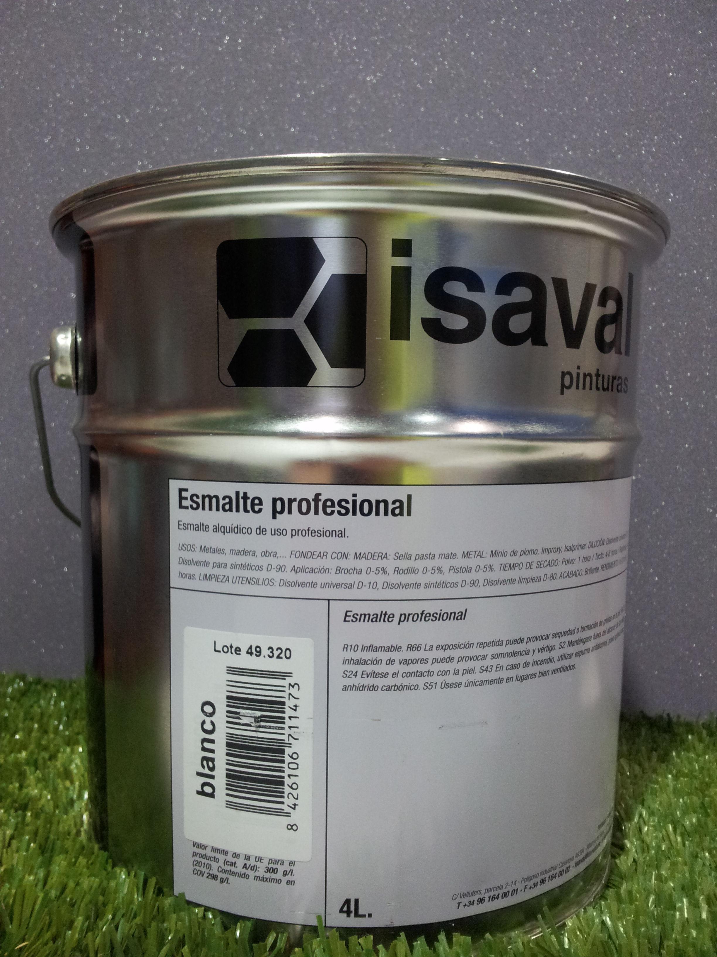 Esmalte ISAVAL Profesional Brillante