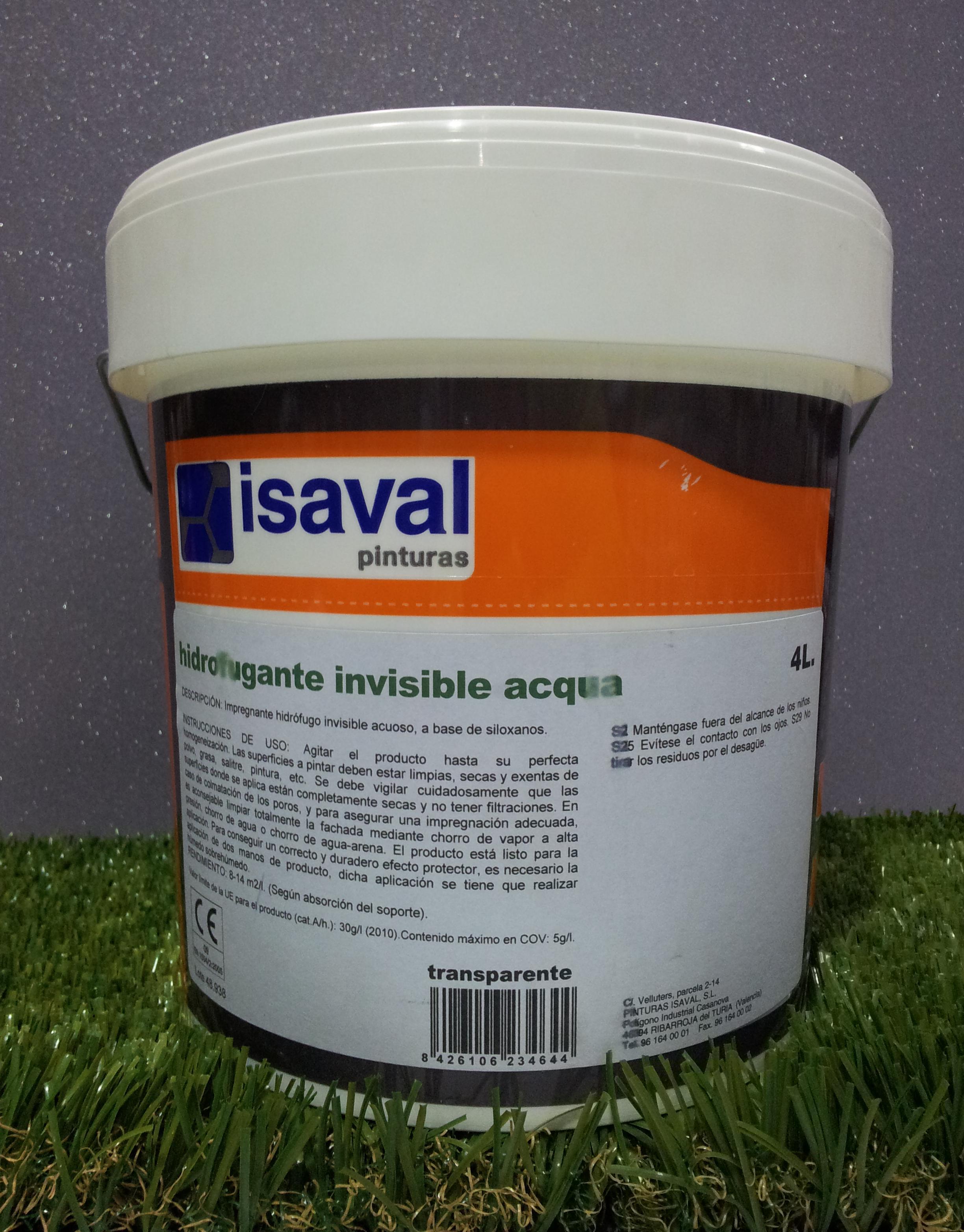 Hidrofugante ISAVAL Invisible Acqua