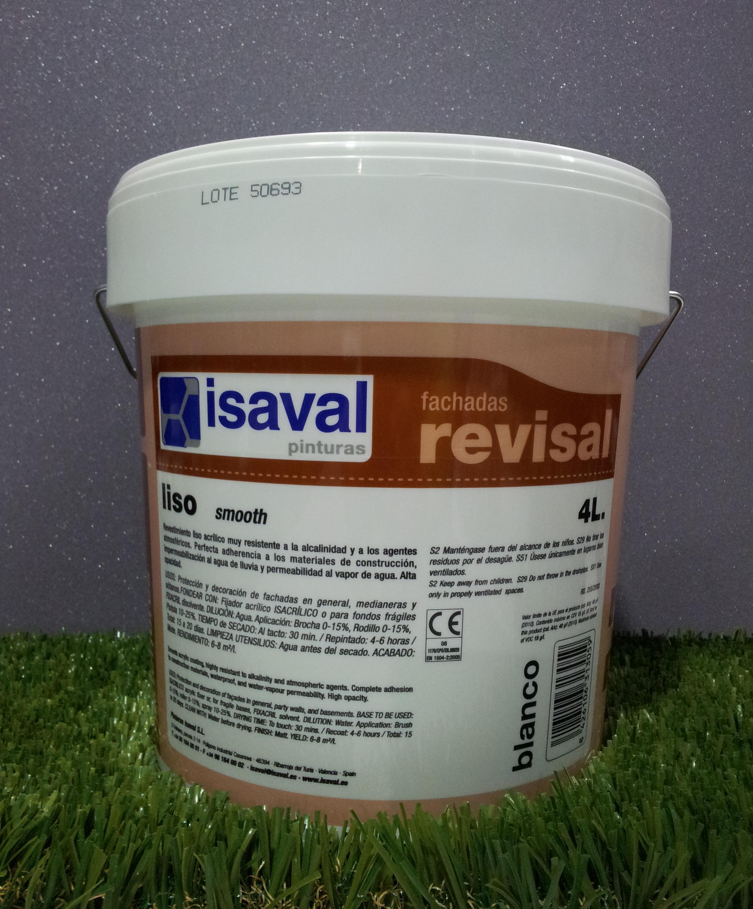 Pintura Exterior ISAVAL REVISAL LISO