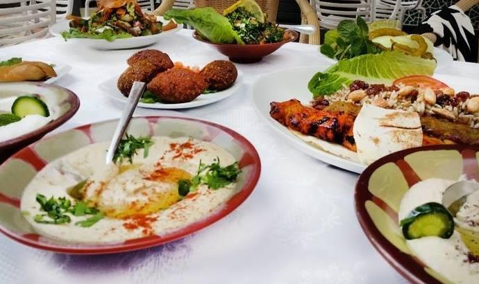 Comida libanesa para llevar en Las Palmas