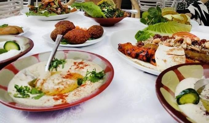 comida libanesa Las Palmas
