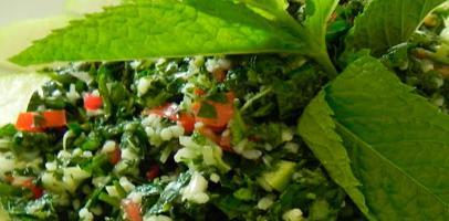 Carta: Productos de Restaurante Libanés Los Cedros