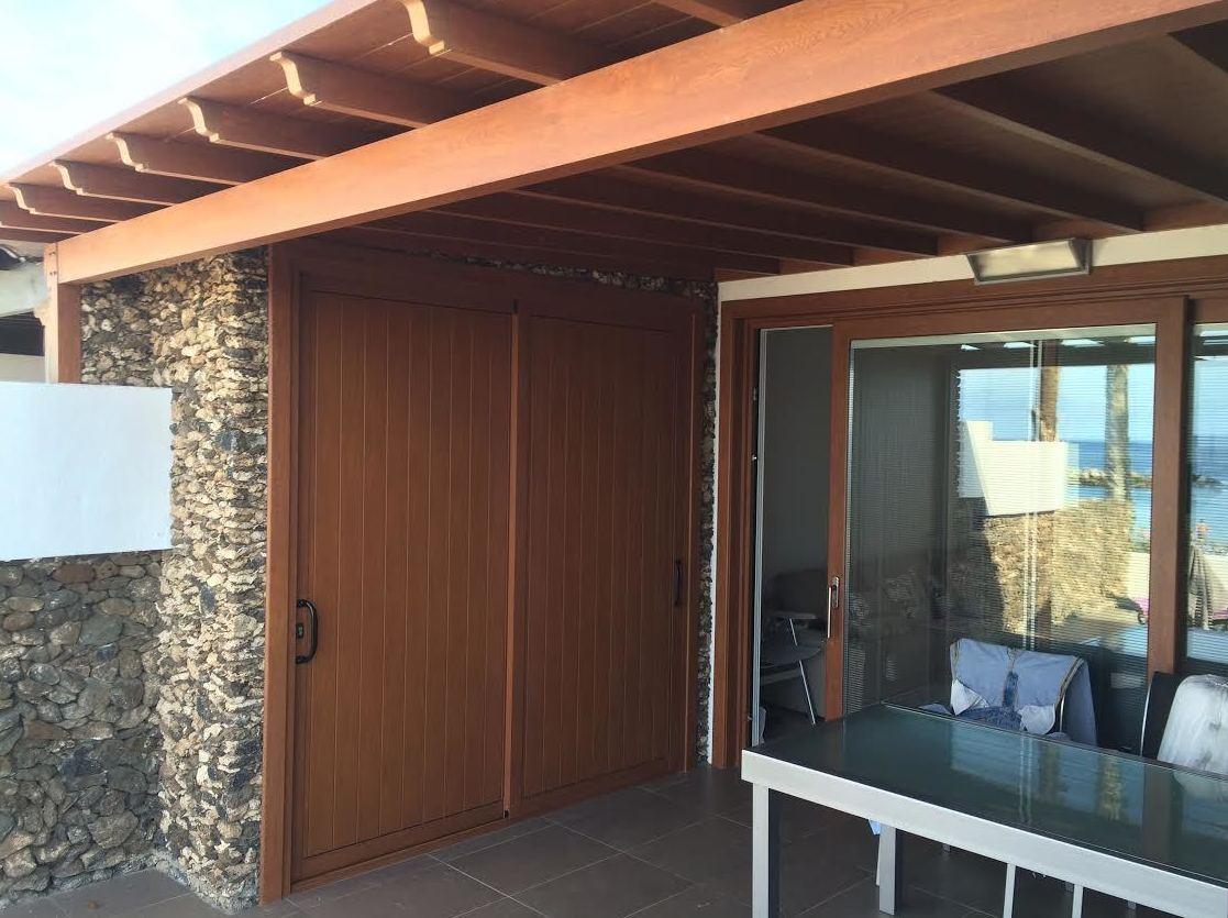 Ventanas porches aluminio
