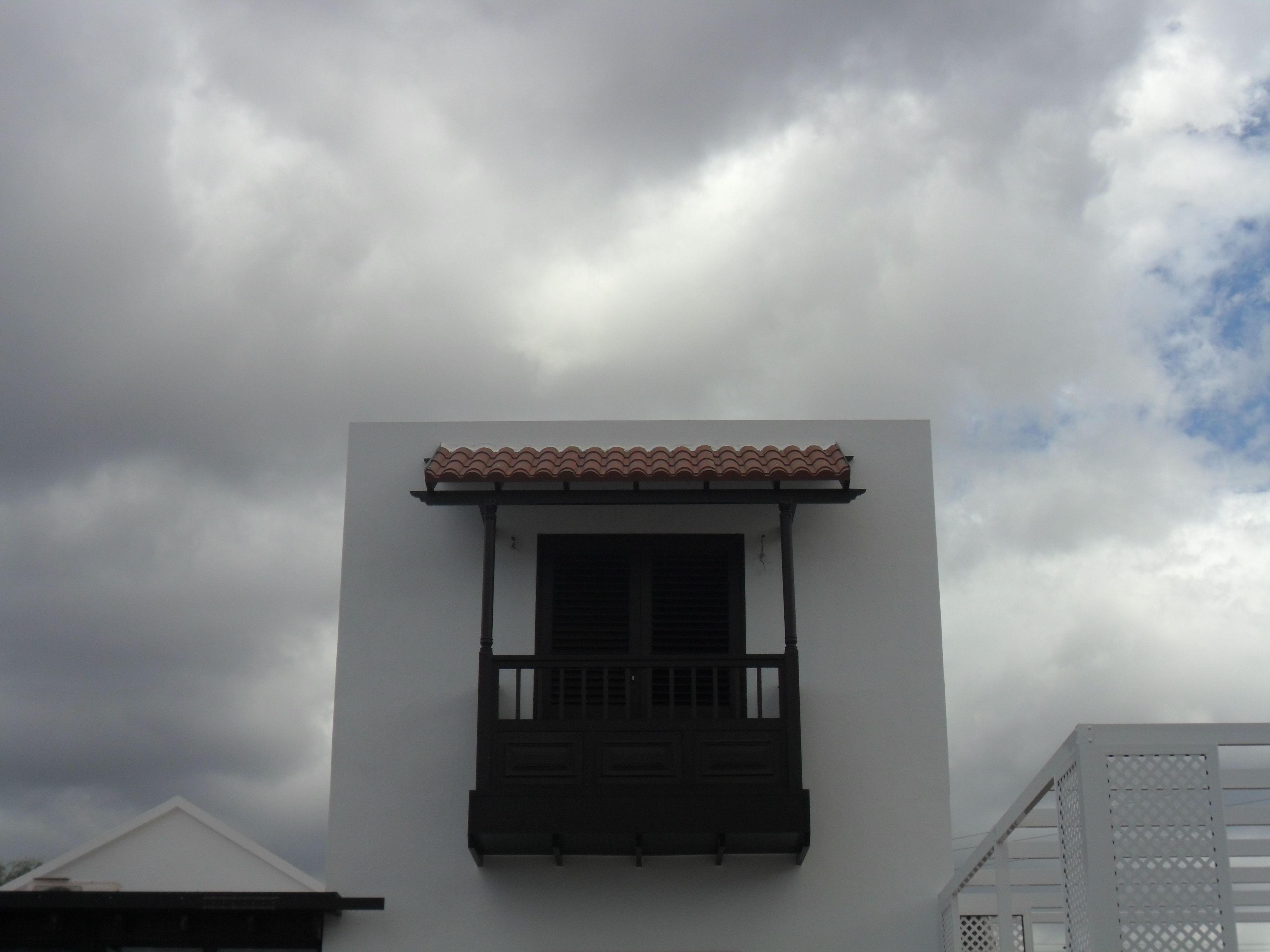 Instalación de balcón de aluminio