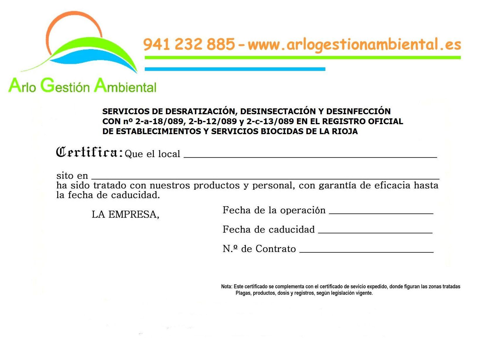 Foto 11 de Desinfección, desinsectación y desratización en Logroño | Arlo Gestión Ambiental