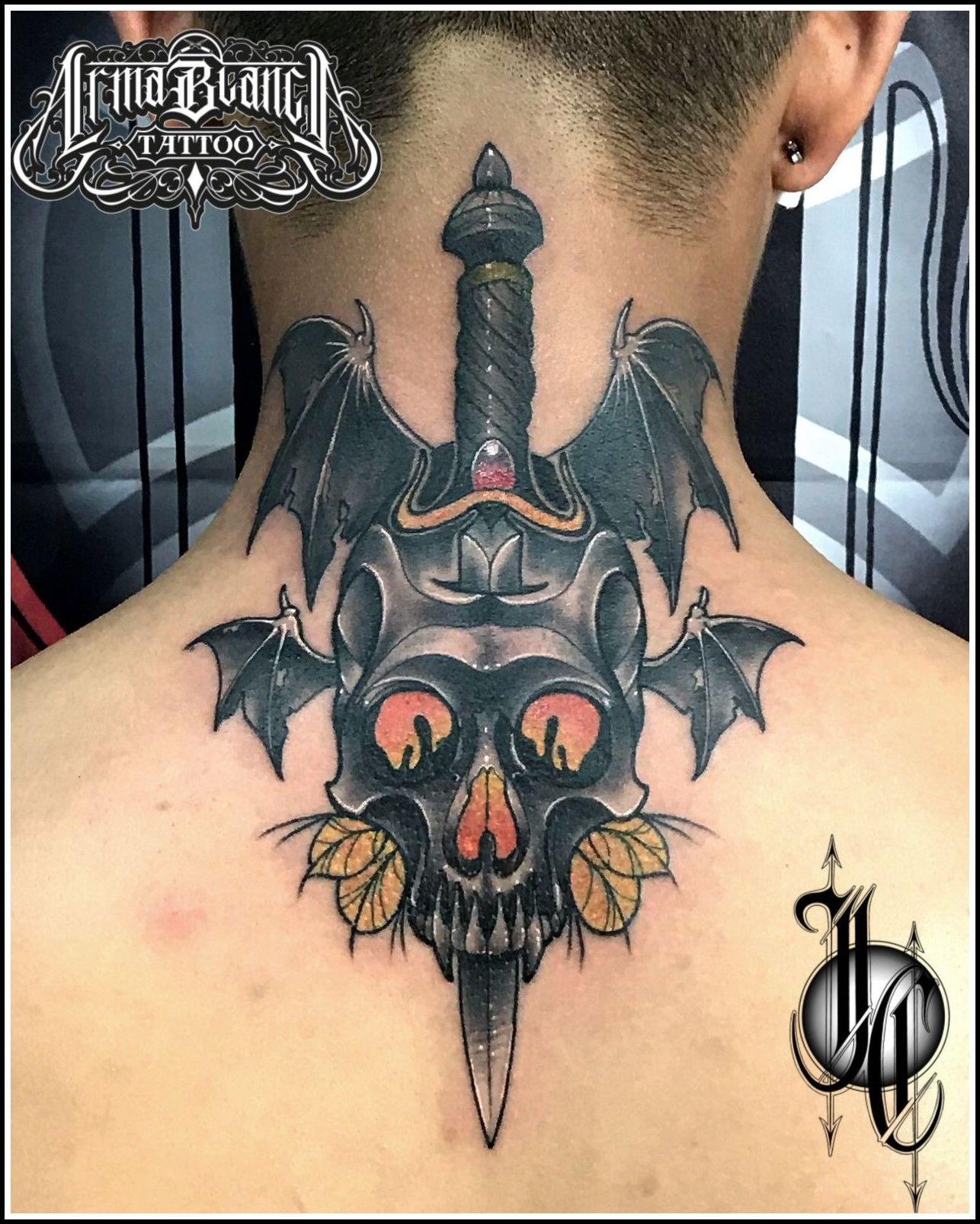 Calavera daga tattoo