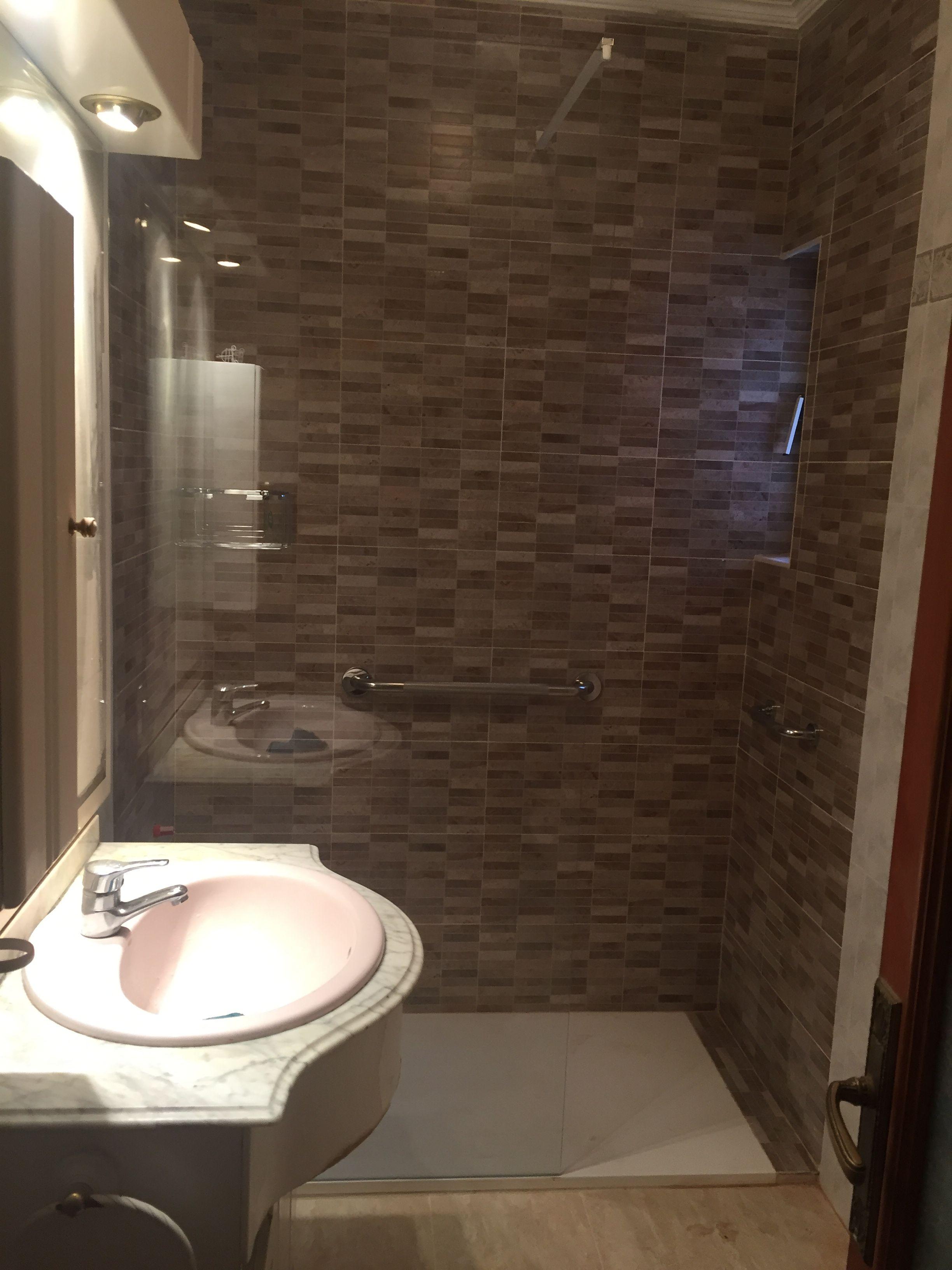 Cambio de bañera por plato de ducha en Ávila