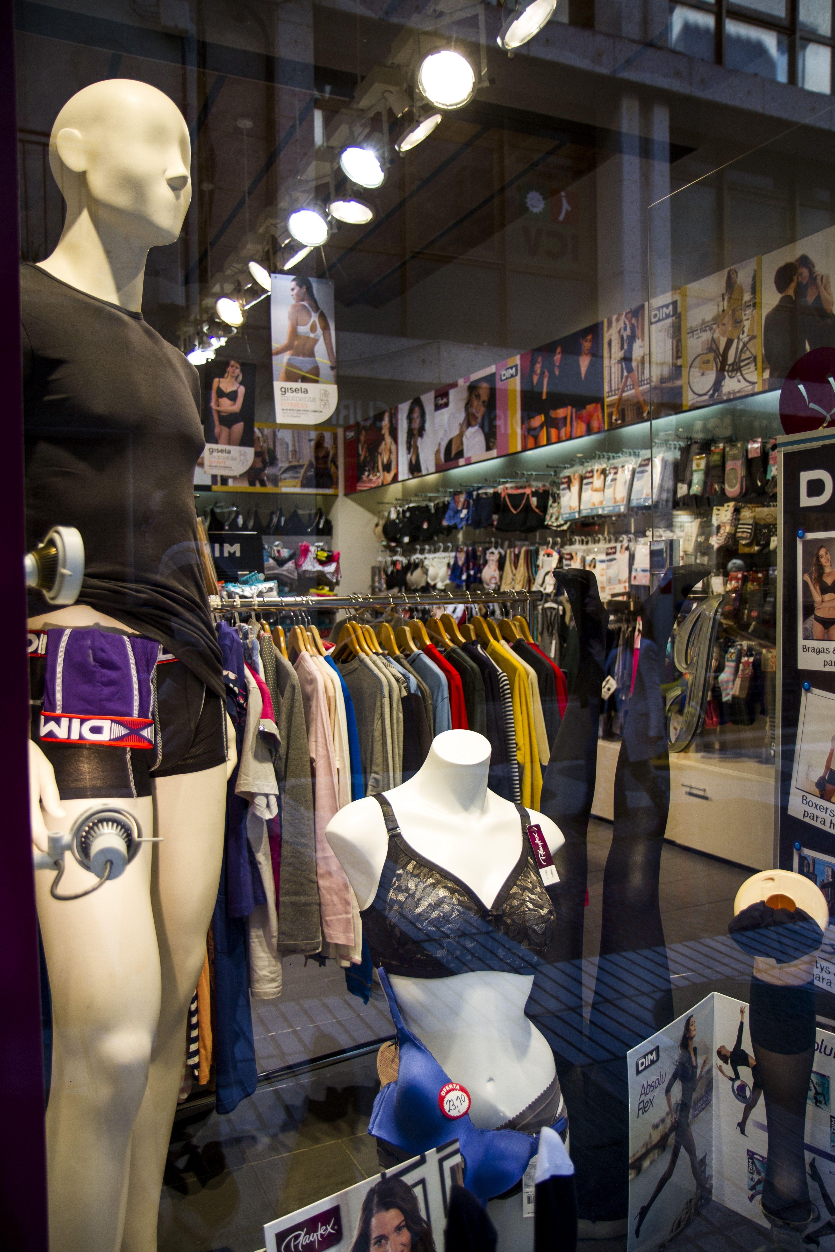 Tienda de ropa interior en Figueres