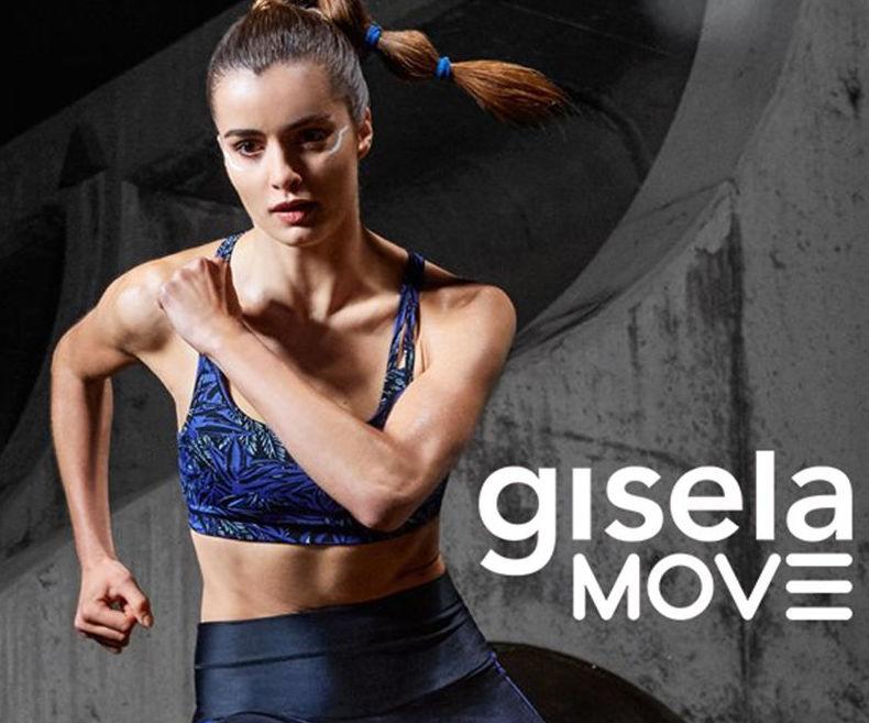 Gisela move para la mujer deportiva