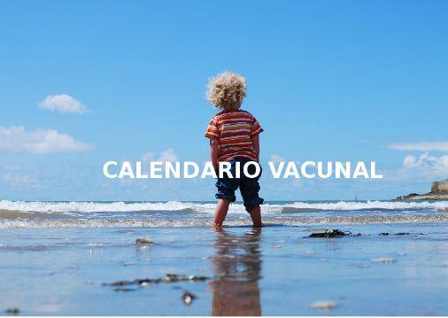 Calendario Vacunal Tenerife