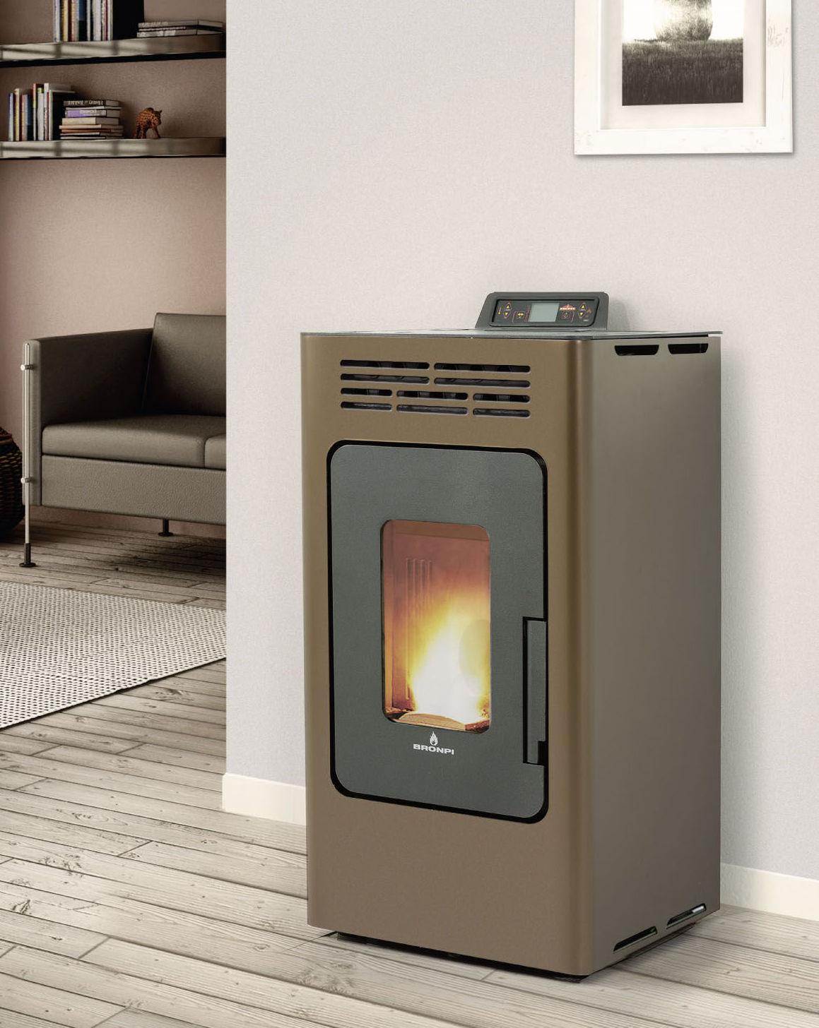 Estufa de aire de 8kw. Disponible en varios colores.