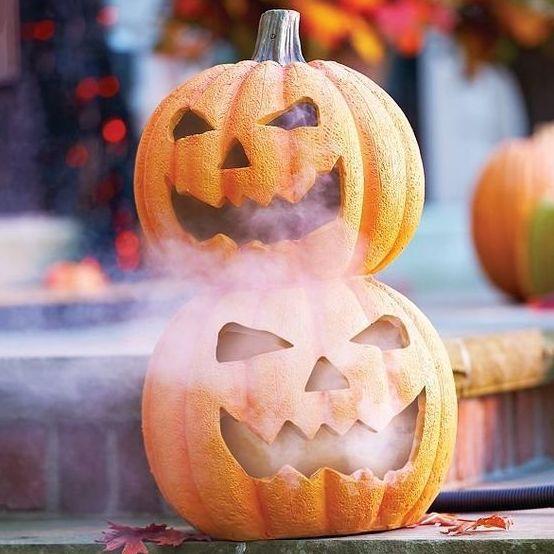 Hielo seco para Halloween