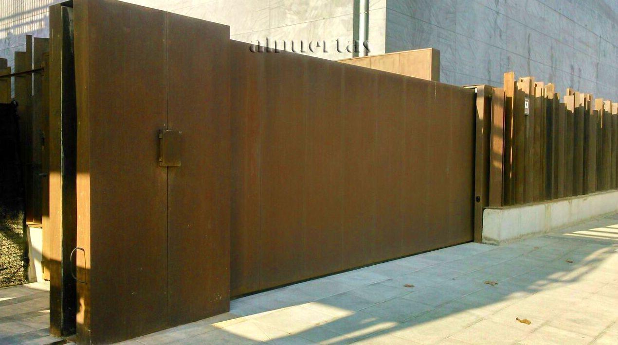 Puertas de garaje valencia gallery of puertas de garaje for Puertas correderas valencia