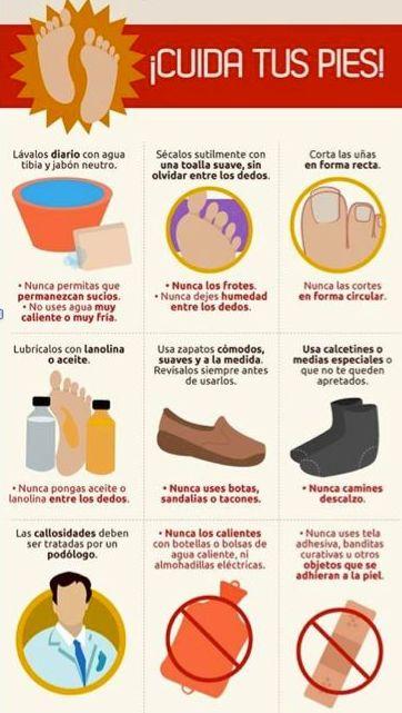 ¿Cómo cuidar tus pies?