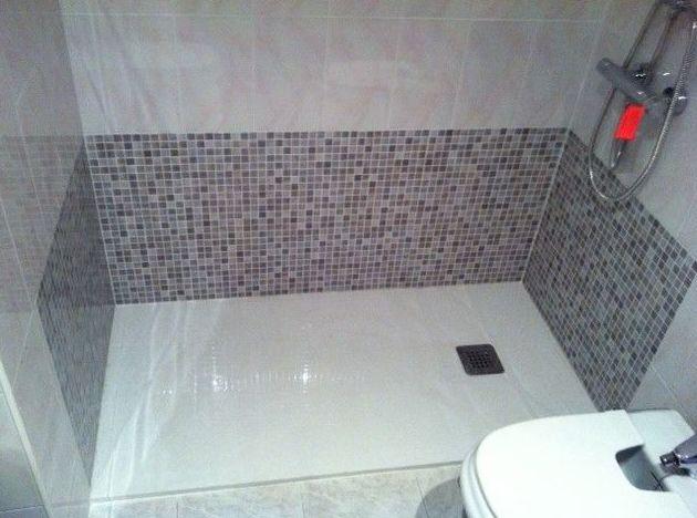Cambio bañera por ducha con azulejado