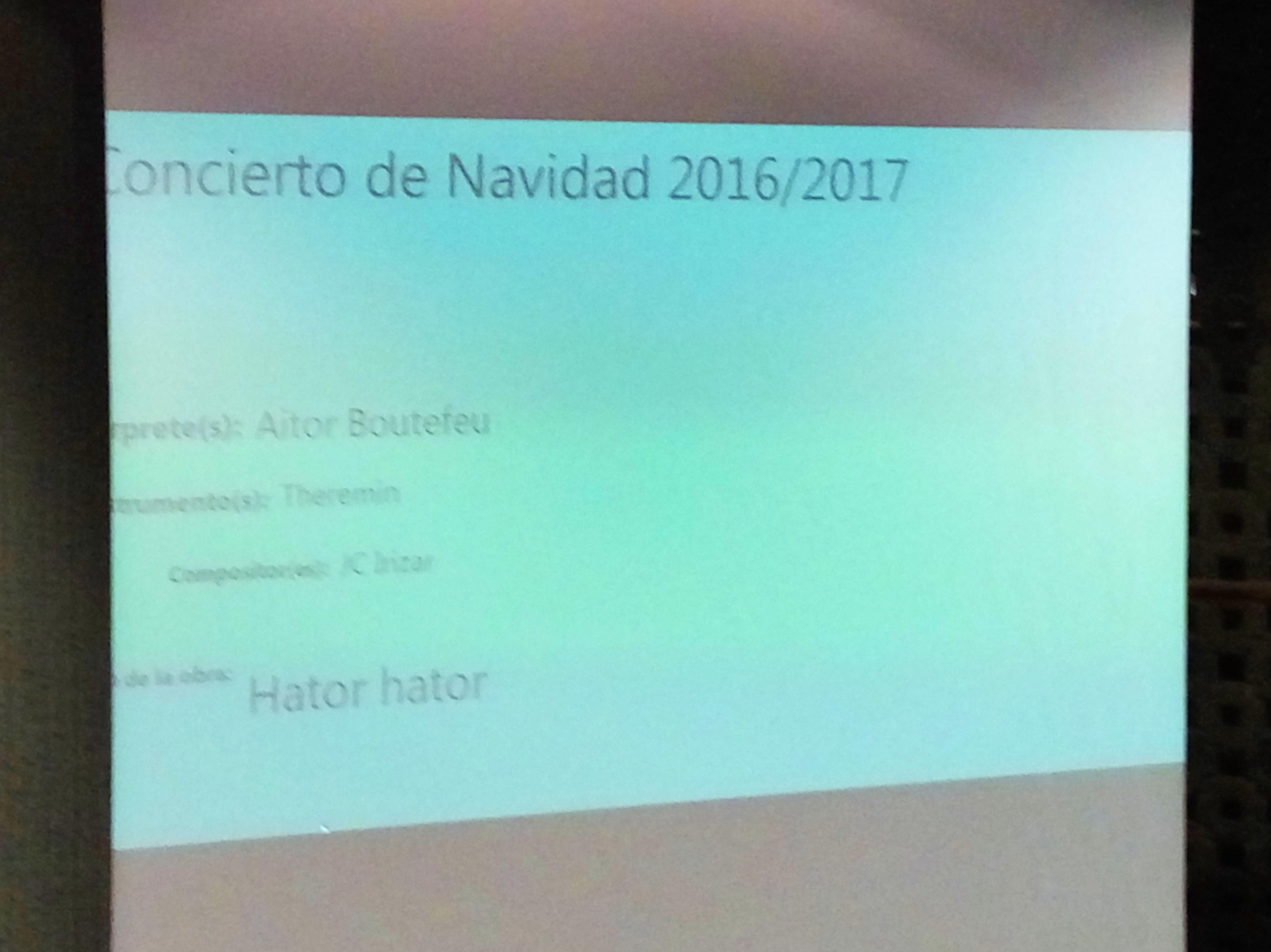 CONCIERTO DE NAVIDAD - GABONETAKO KONTZERTUA