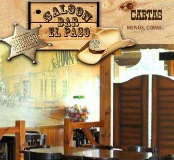 Menús: Eventos y Cartas de Saloon - Bar El Paso