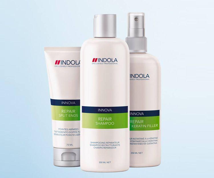 Tratamientos para la reparación del cabello