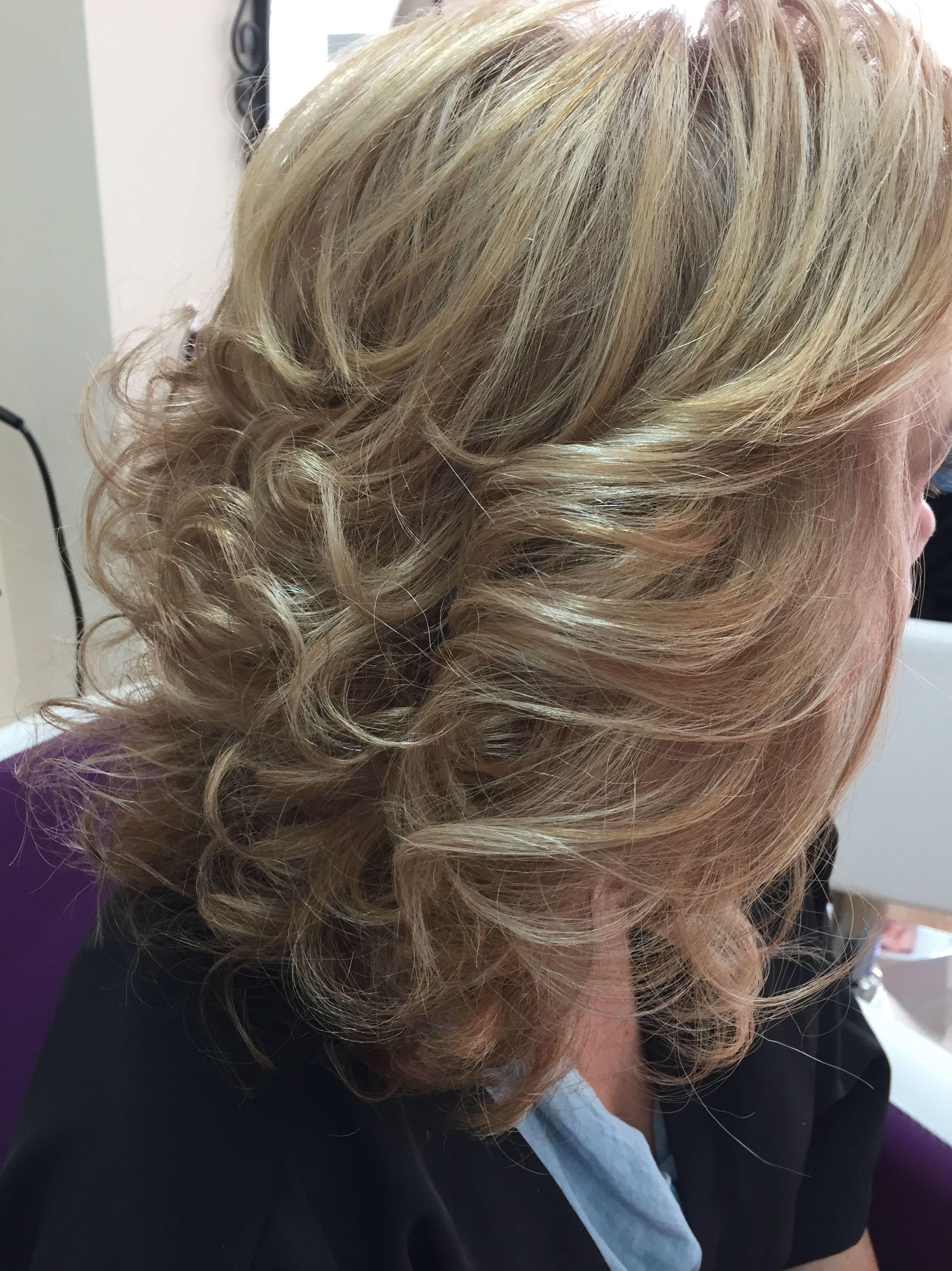 Peinado de señora de 50 años
