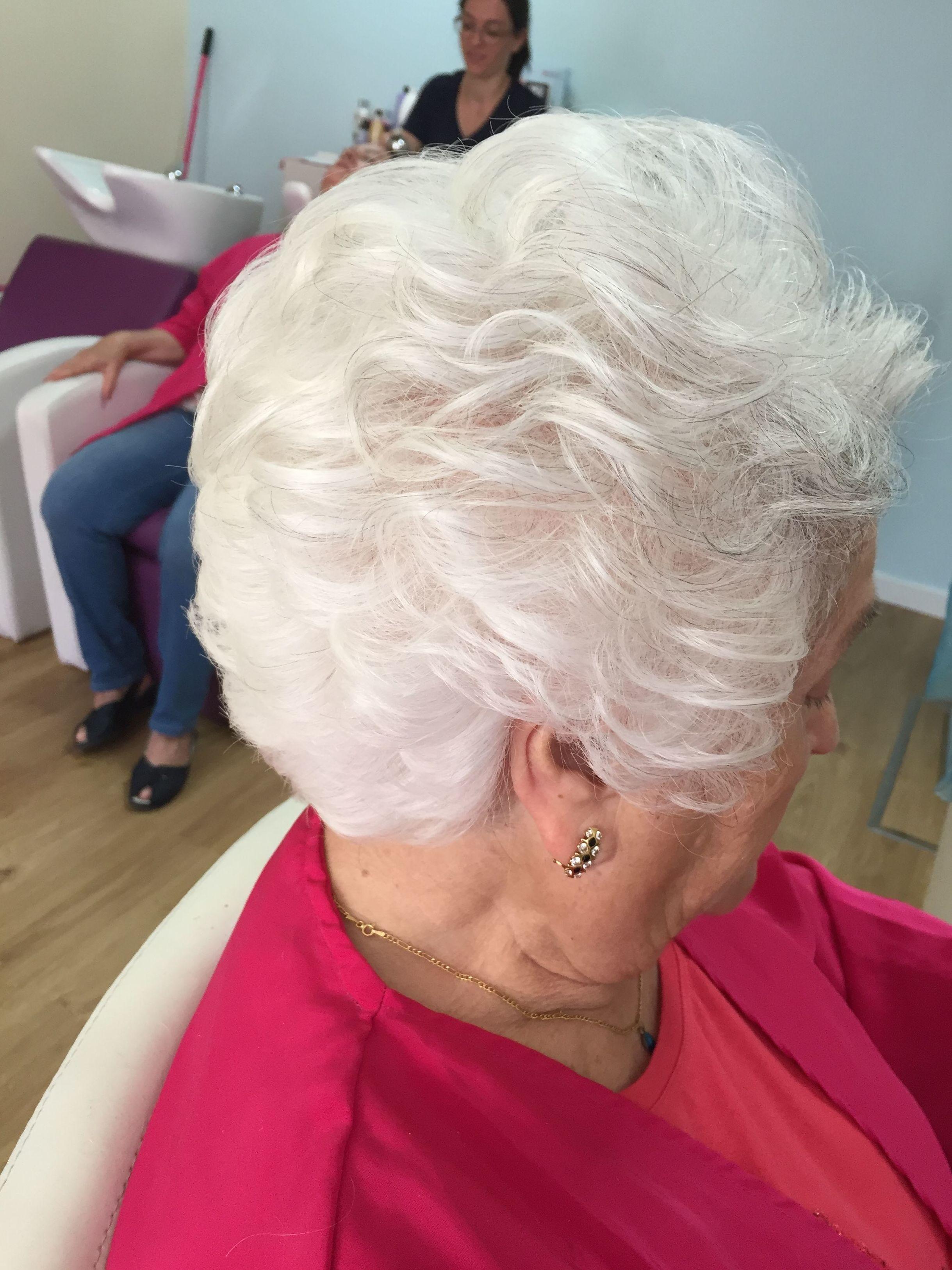 Peinado de señora