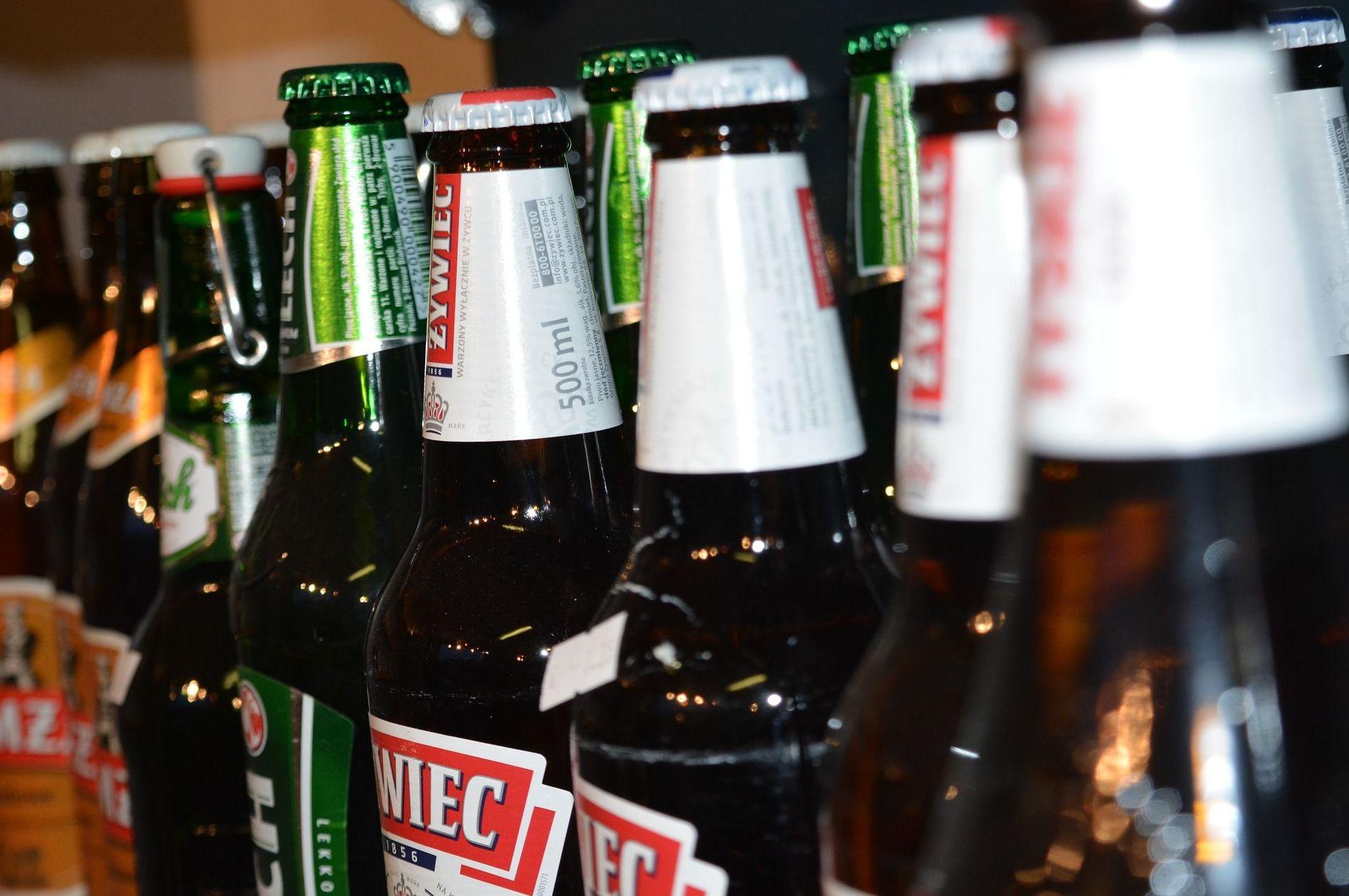 Amplia selección de cervezas de importación