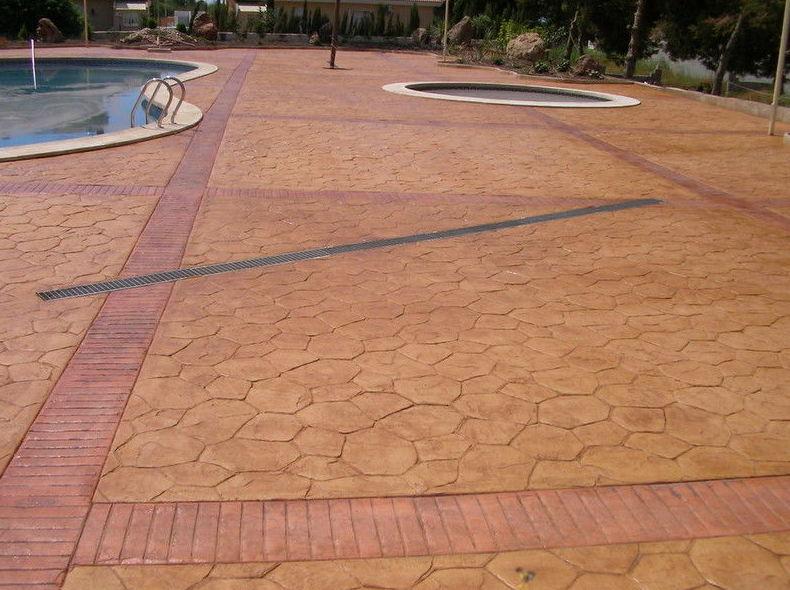Pavimentos de hormigón desactivado o lavado al ácido