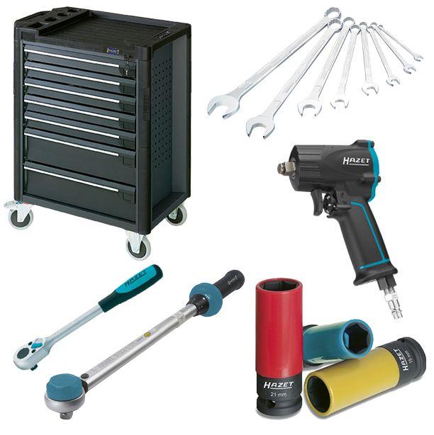 Gran variedad de herramientas