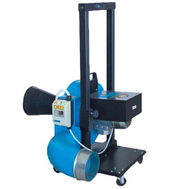 Máquinas para la extracción de gases