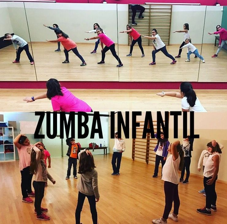 Zumba Infantil : Actividades y Servicios de Gimnàs Record