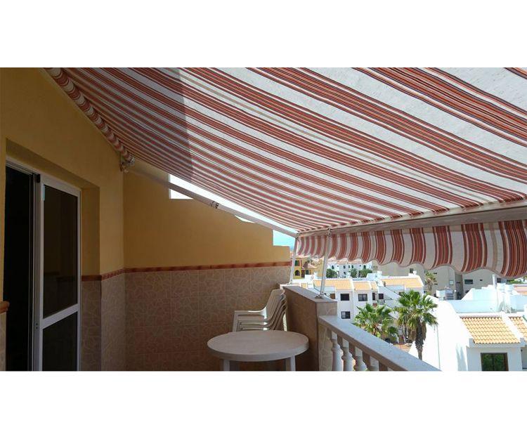 Instalación de toldos a medida en Tenerife