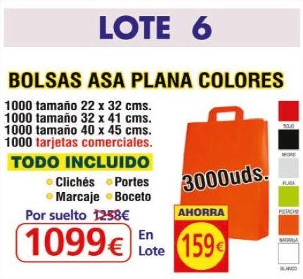 BOLSA ASA PLANA COLORES 3000UNDS: TIENDA ON LINE de Seriprint