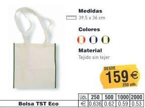 BOLSAS TST ECO 39.5X36CMS: TIENDA ON LINE de Seriprint Serigrafia