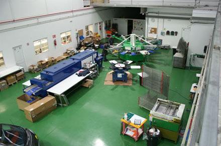 Instalaciones de la empresa Seriprint Serigrafía