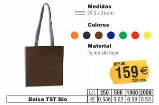 BOLSAS TST BIO 39.5X36CMS: TIENDA ON LINE de Seriprint Serigrafia