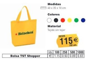 BOLSAS TST SHOPPER 40X35CMS: TIENDA ON LINE de Seriprint