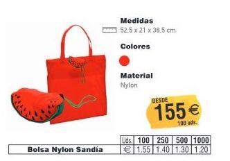 BOLSAS NYLON SANDIA: TIENDA ON LINE de Seriprint