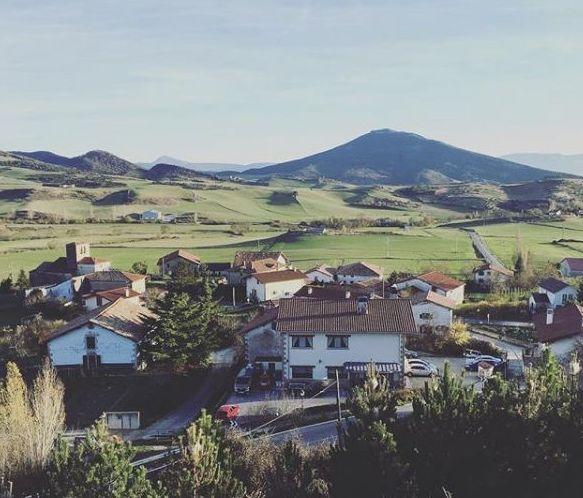 Vista panorámica del pueblo y alrededores