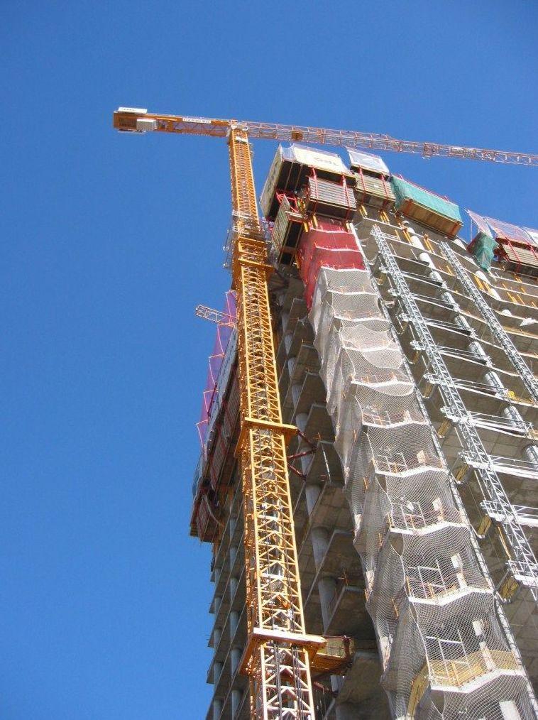 Alquiler de grúas para la construcción en Madrid