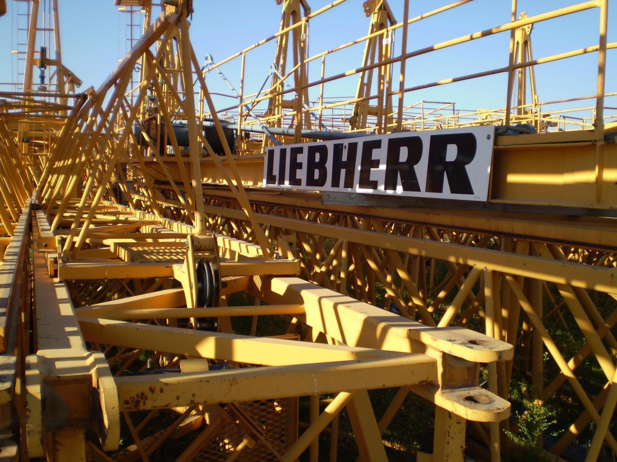 Grúas Liebherr para la construcción en Madrid