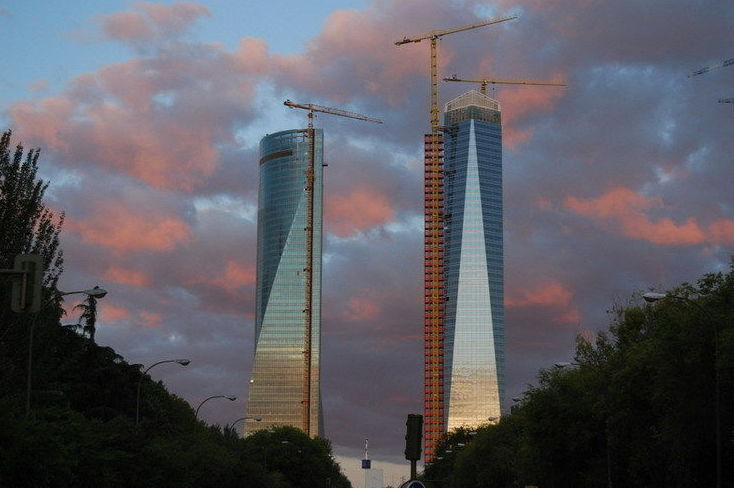 Grúas torre Liebherr en Madrid