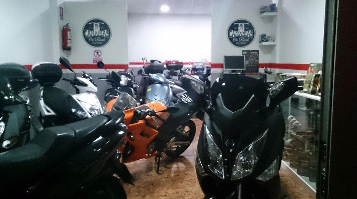 Venta de motos usadas en San Isidro, Tenerife
