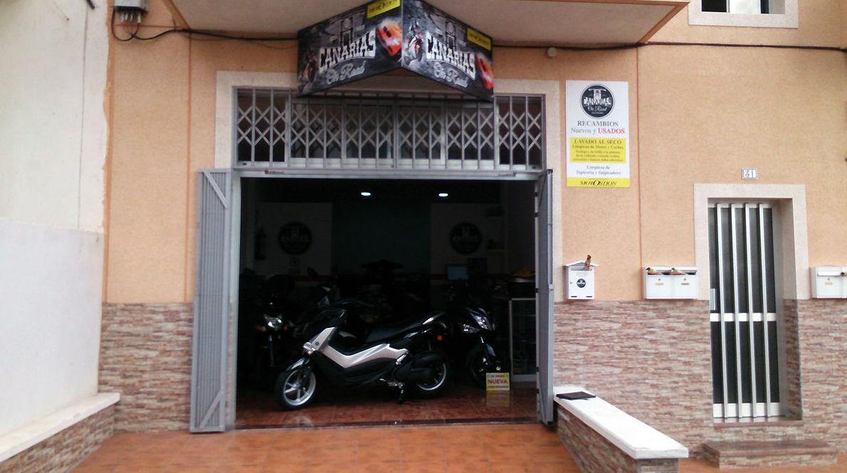 Venta de repuestos nuevos y usados para motos y coches en San Isidro, Tenerife