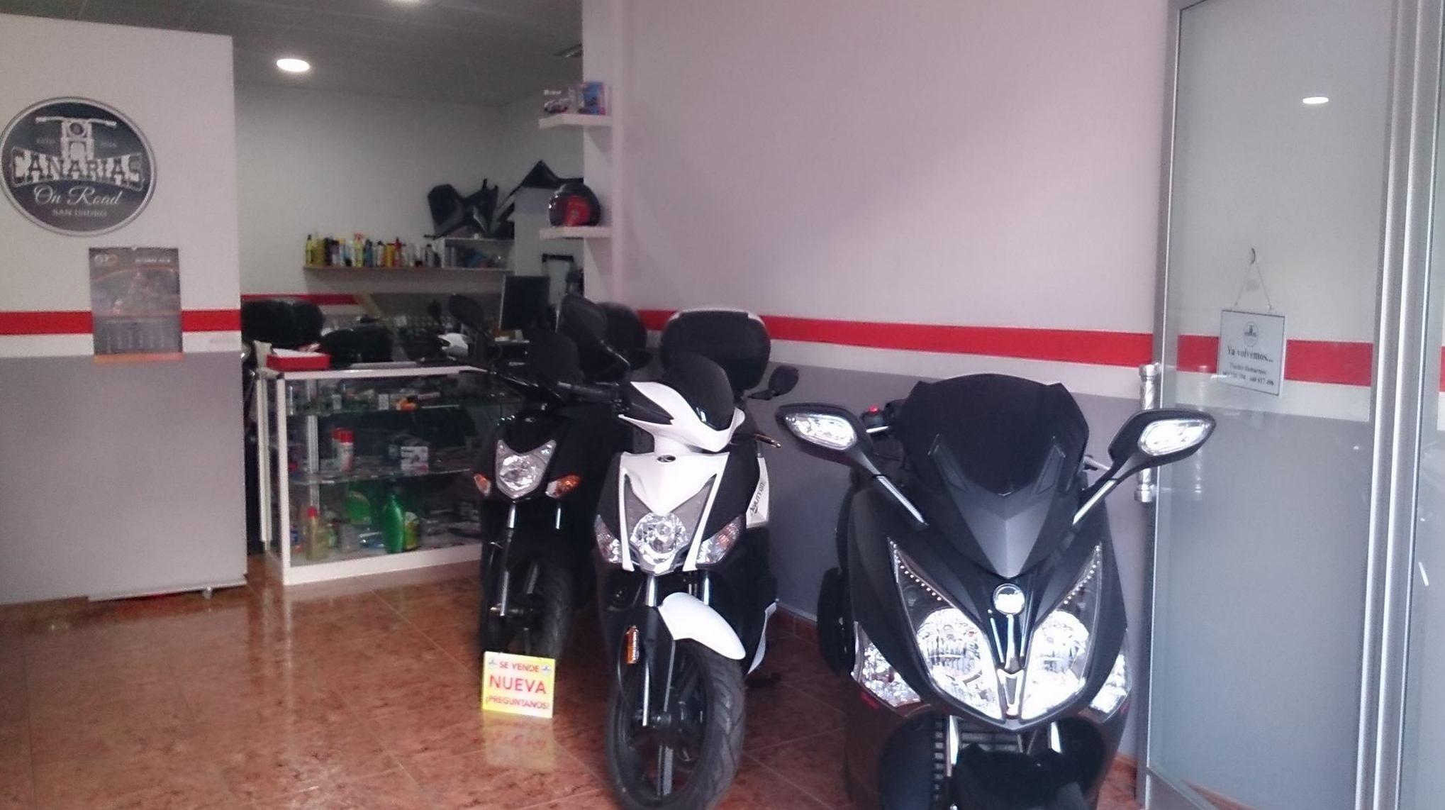 Venta de motos nuevas en San Isidro, Tenerife