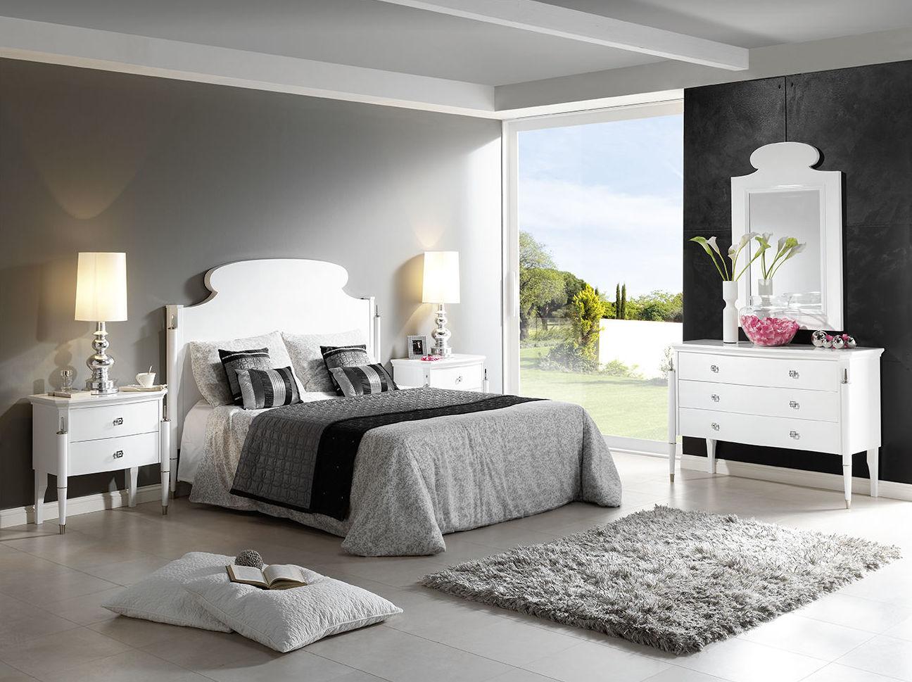 Dormitorio mod 83 Dafne, lacado blanco