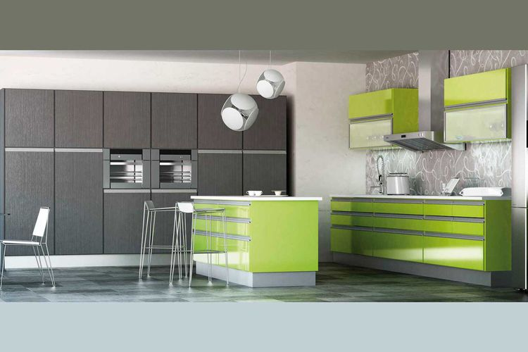 Muebles modernos para cocinas