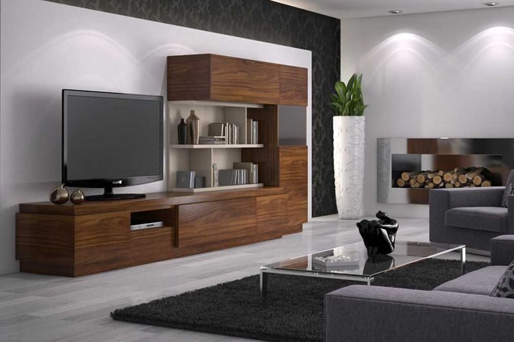 Muebles para salón con estilo moderno