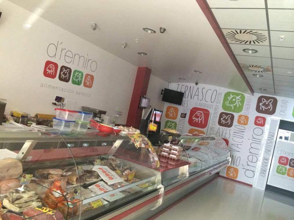 Reforma de una tienda de alimentación